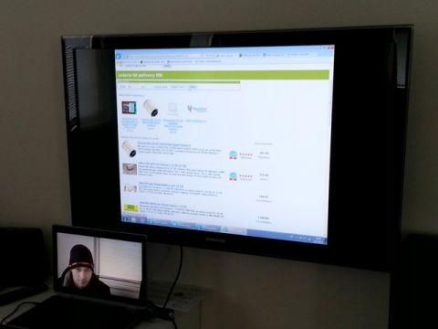 Testování webu - TV