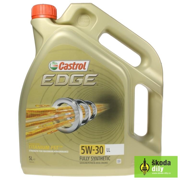 6b88340abc Motorový olej CASTROL EDGE 5W-30 longlife Castrol EDTIT5W30LL